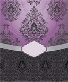Floral background,invitation card Royalty Free Stock Photo