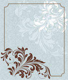 Floral background,invitation card Stock Photo