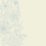 Floral background in light colours Stock Photos