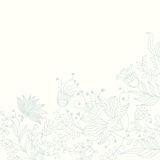 Floral background in light colours royalty free illustration