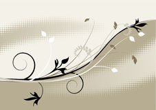 Floral background, ornament Stock Photo