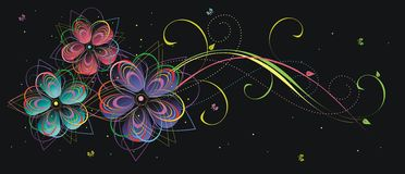 Floral background4 Royalty Free Stock Photography