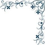 Floral background ornament. Flower, separator, floral, text, divider, ornament, decoration, pattern, vector, design, modern, set, ornamental, element, line Royalty Free Stock Images