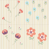 Floral background. Part of the flower pattern Stock Photos