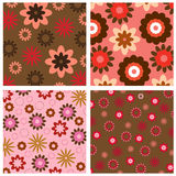 Floral background pattern Royalty Free Stock Photography