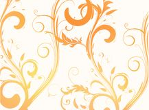 Floral background pattern Stock Image