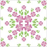 Floral background/pattern Royalty Free Stock Photography