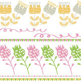 Floral  background pattern design Stock Image