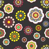 Floral Background Pattern design stock images