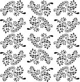Floral background pattern Stock Photos