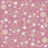 Floral background Pink Royalty Free Stock Image