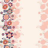 Floral background with a place for text Stock Images