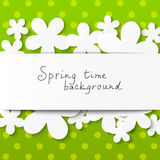 Floral background with place for text Stock Image