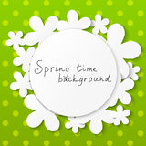 Floral background with place for text Royalty Free Stock Images