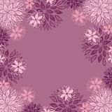 Floral background with place for your text Stock Image