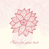 Floral background with place for your text Royalty Free Stock Image