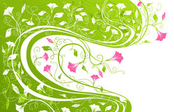 Floral background with place for your text. Royalty Free Stock Images