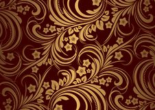 Floral background in retro style. Eps 10 Royalty Free Stock Photo