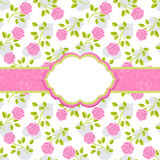 Floral background with roses Royalty Free Stock Photos
