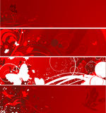 Floral background's set Royalty Free Stock Images