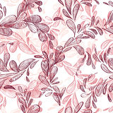 Floral background, seamless. Stock Photography