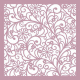 Floral  background. Seamless  abstract  floral   background (lazer cute Royalty Free Stock Photos