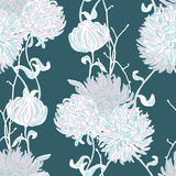 Floral background. Seamless floral pattern. Stock Images