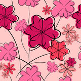 Floral background. seamless flower texture Royalty Free Stock Photo