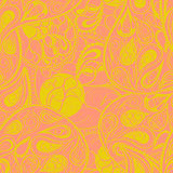 Floral background. Seamless floral pattern for wallpaper,origami paper Royalty Free Stock Image