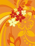 Floral Background Series Royalty Free Stock Photography