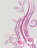 Floral Background Series Stock Image