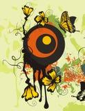 Floral background series vector illustration