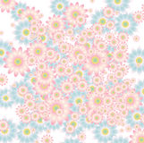 Floral background in soft colors Royalty Free Stock Images