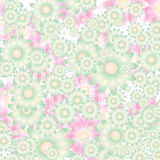 Floral background in soft colors Stock Photos