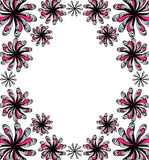 Floral background for text Royalty Free Stock Photo