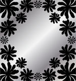 Floral background for text Royalty Free Stock Photos