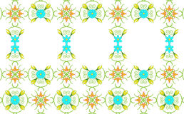 Floral background with text space royalty free illustration
