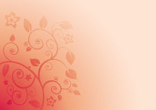 Floral Background Vector Royalty Free Stock Photo