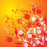 Floral background, vector Royalty Free Stock Image