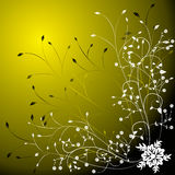 Floral background, vector Stock Photography