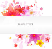 Floral Background. Vector  Royalty Free Stock Image