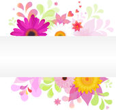 Floral Background. Vector Stock Photography