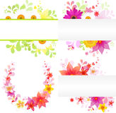 Floral Background. Vector Stock Image