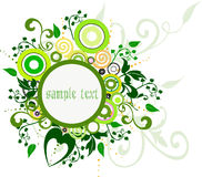 Floral Background - vector Stock Photography