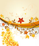 Floral background vector Stock Photo