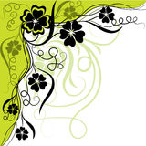 Floral background, vector Stock Images