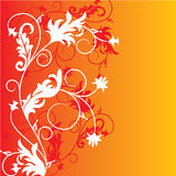 Floral background, vector Stock Image