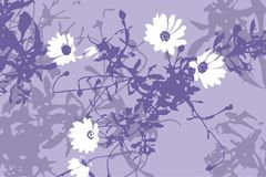 Floral background (vector) Stock Photography