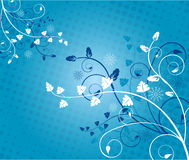 Floral background - vector Royalty Free Stock Photography