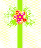 Floral background - vector Royalty Free Stock Images